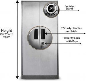 Fedmax Metal Storage Cabinet