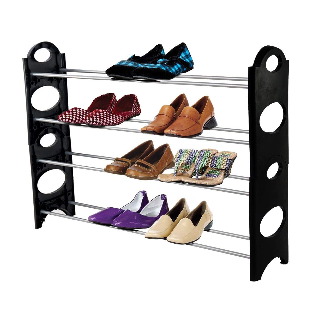 ForHauz Shoe Storage Rack for Closet or Entryway