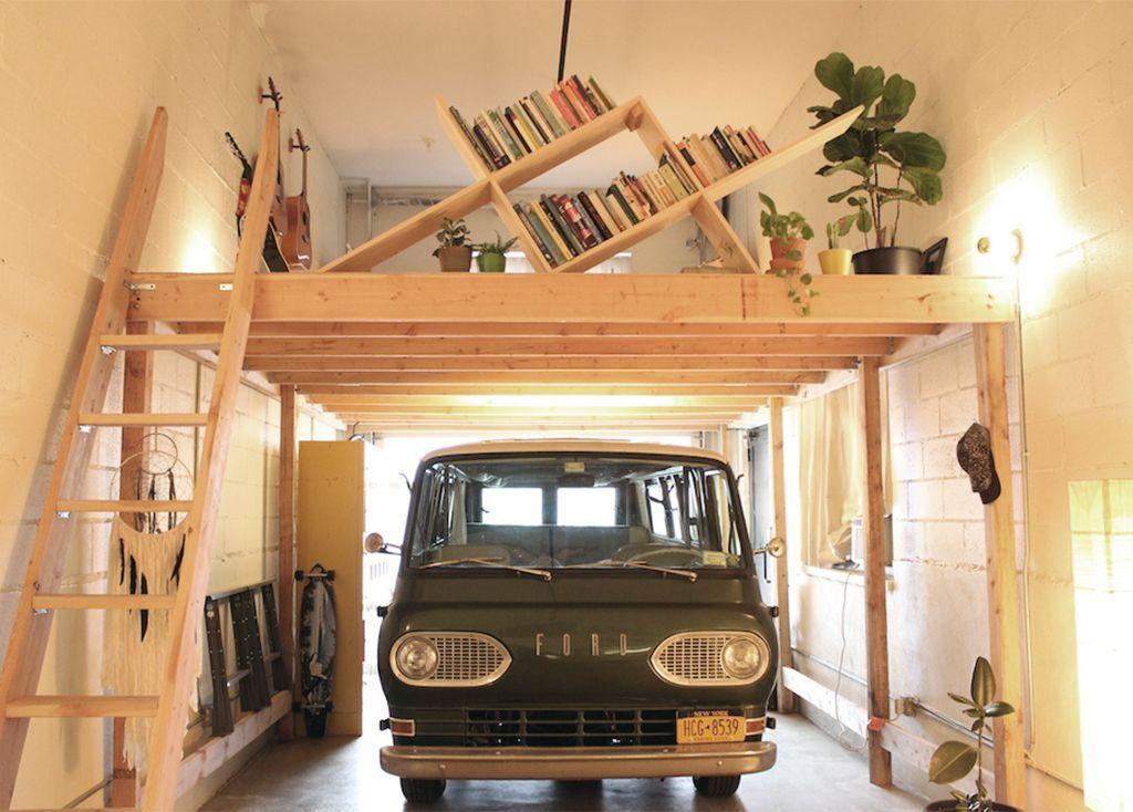 Garage loft
