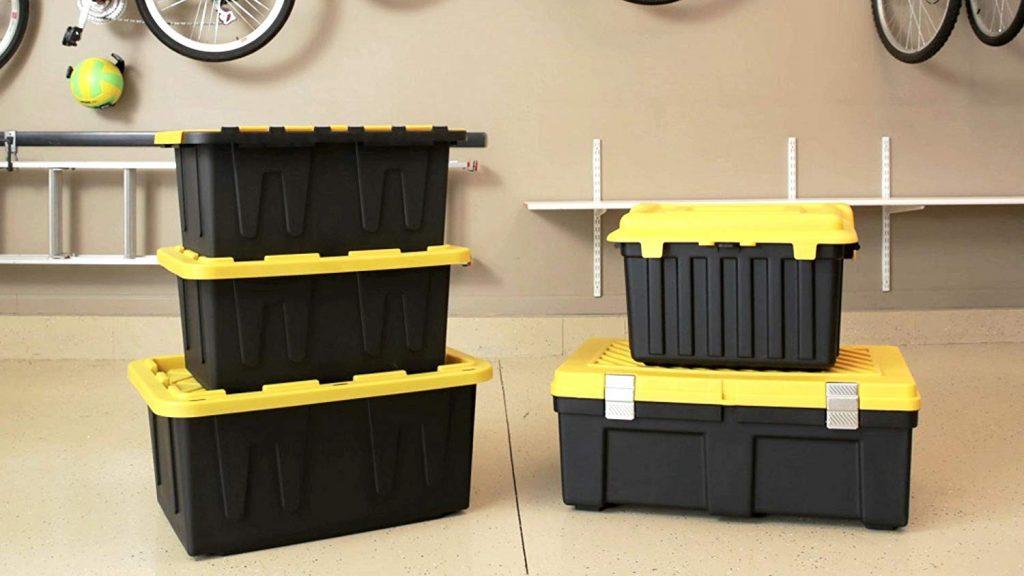 HOMZ 15 Gallon Durabilt Storage Container, 2-Pack (3)