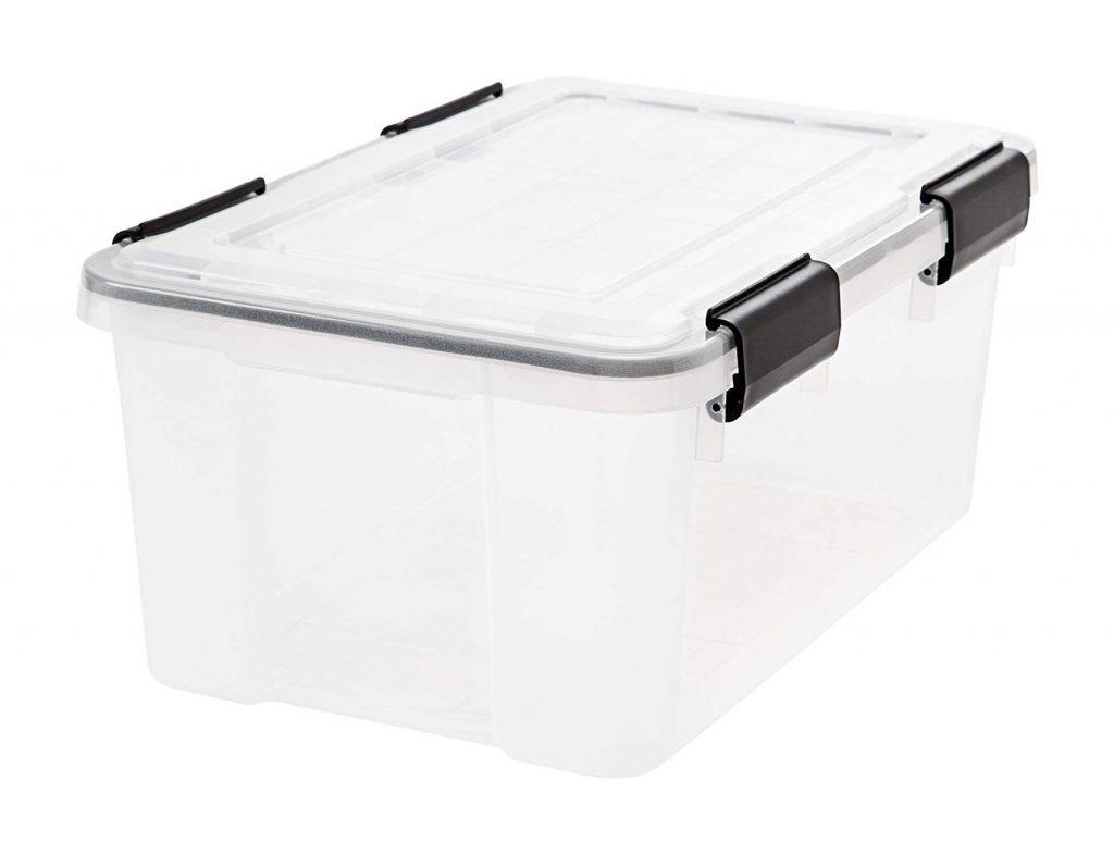 IRIS Weathertight Storage Box, 19 Quart (1)