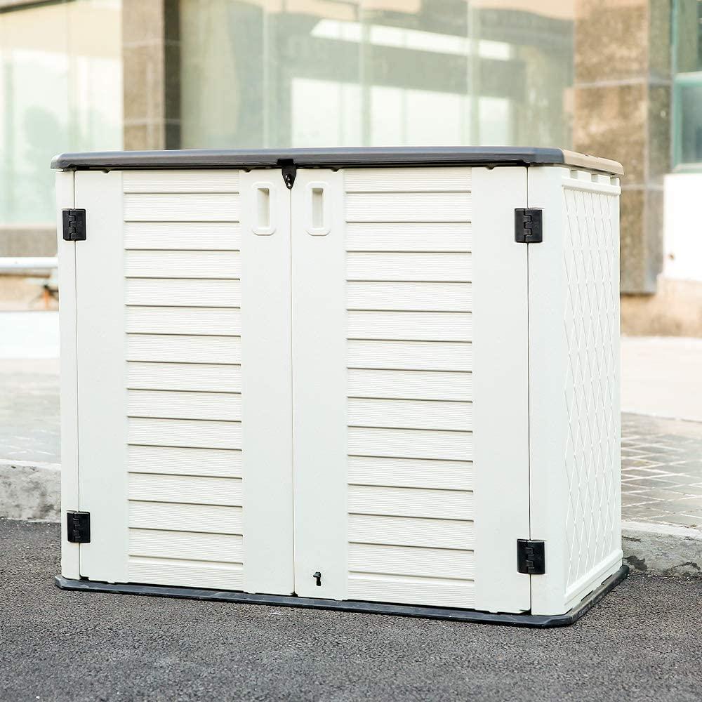 Kinying Horizontal Storage Shed