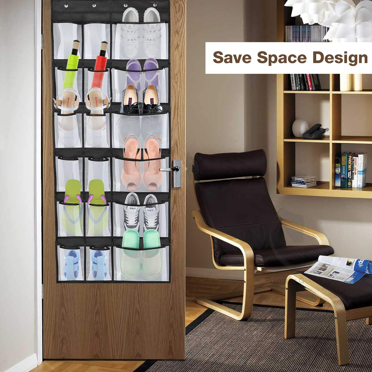 Kootek Shoe Organizers with Various Compartments