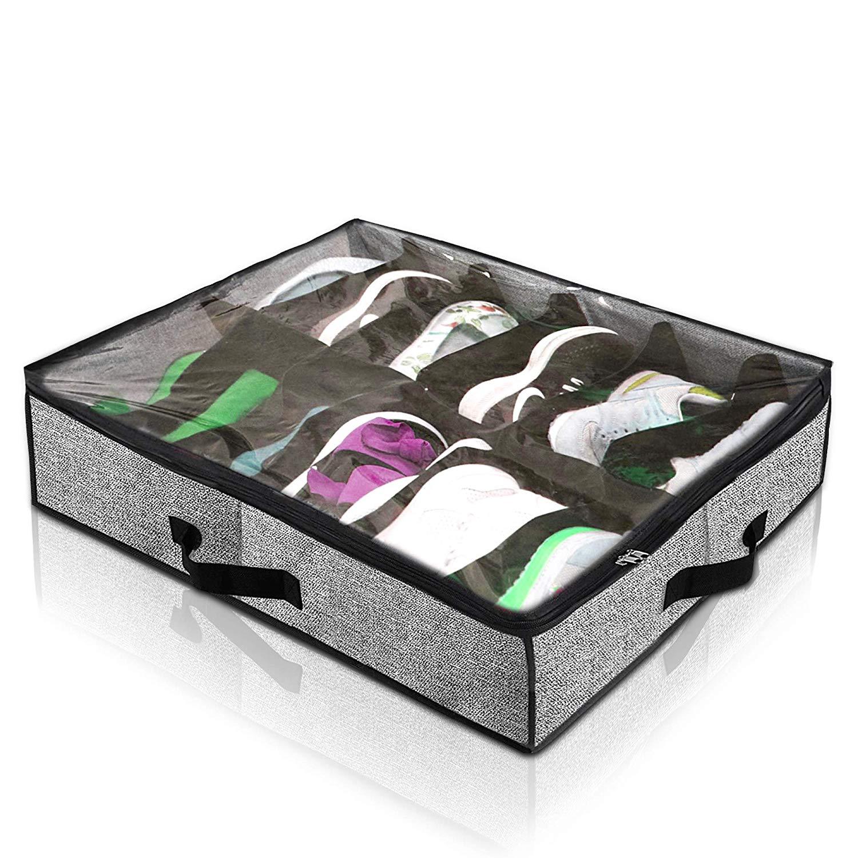 Olive Homeware Under Bed Shoe Organizer