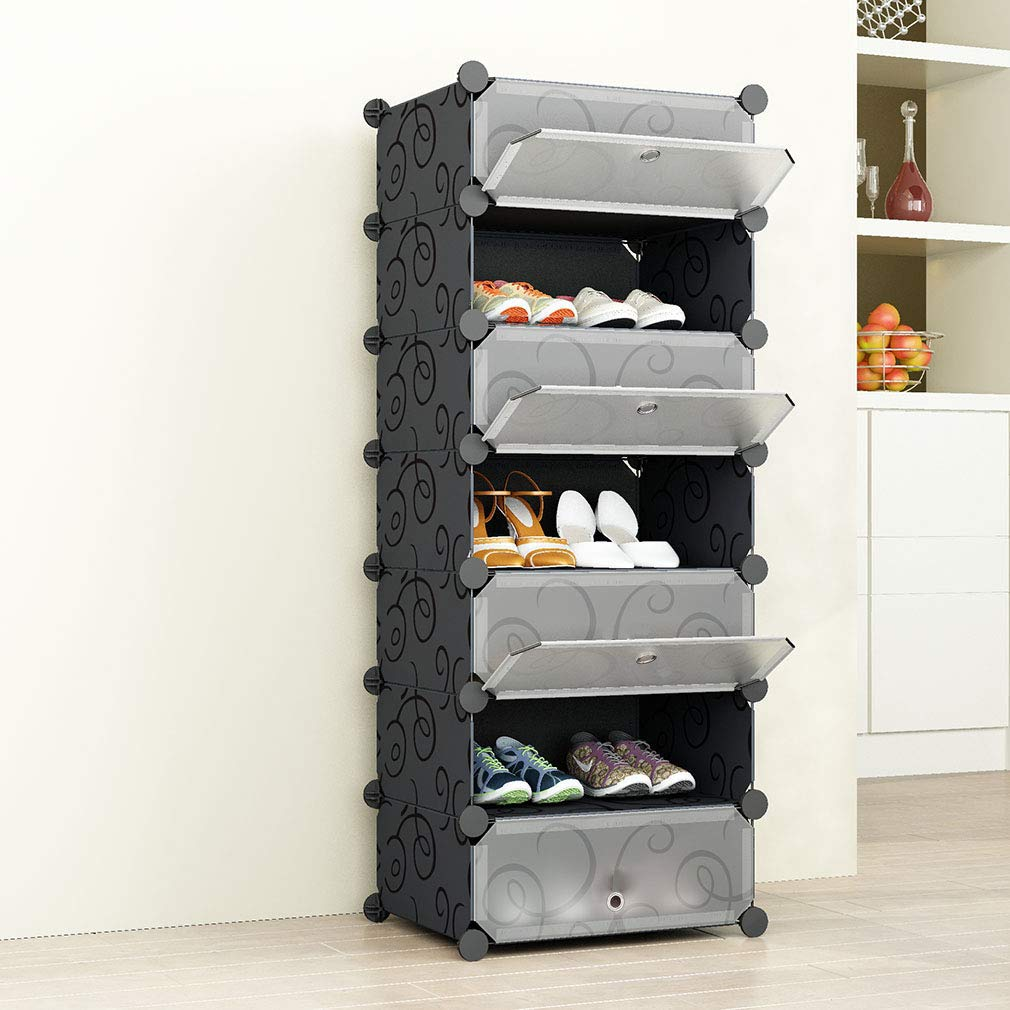 SIMPDIY Portable Shoe Rack