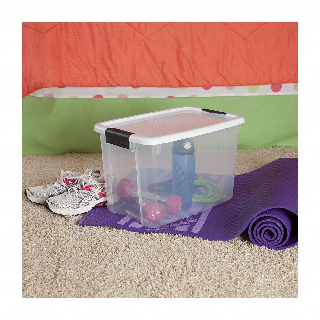 STERILITE 30 Quart Ultra Latch Box (6 boxes) (3)
