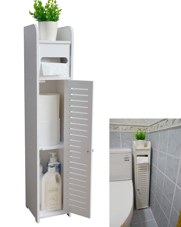 Skinny shelf for the bathroom