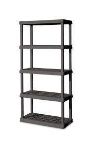 Sterilite 5 Shelf Unit