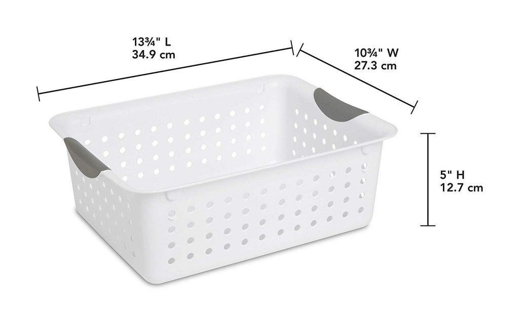 Sterilite Medium Ultra Basket (6 Pack) (2)