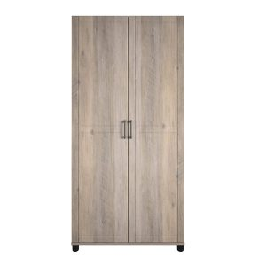 SystemBuild Callahan 36_ Gray Oak Cabinet
