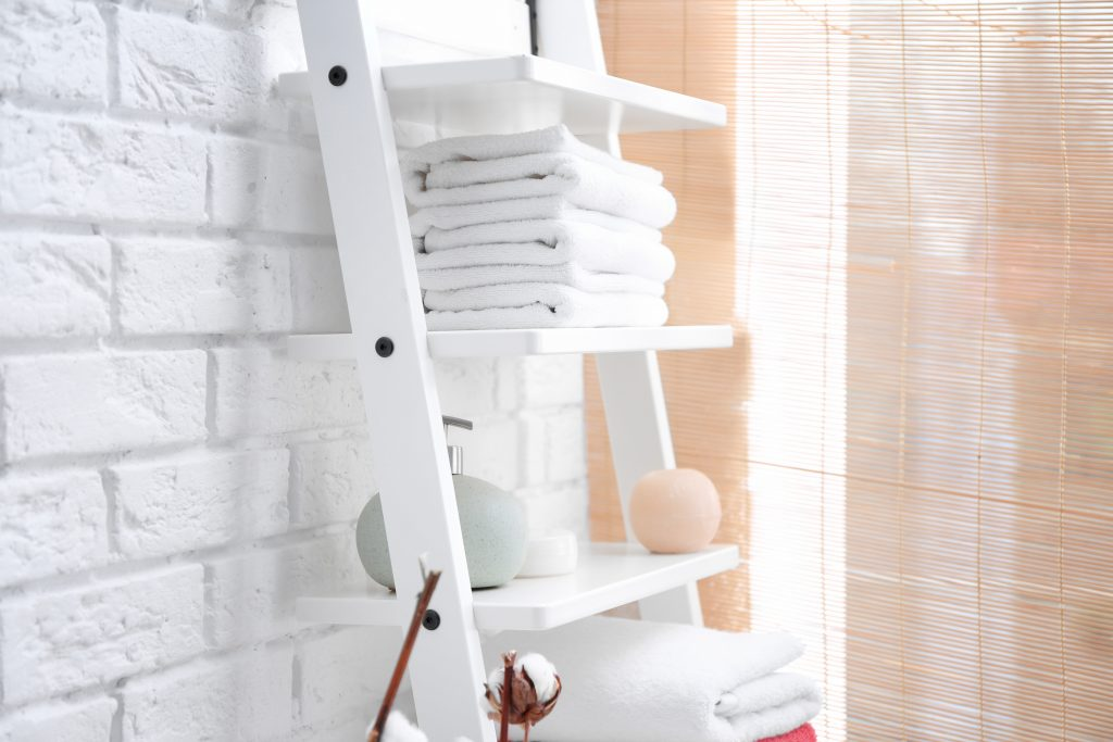 Ladder Shelf For Bathroom