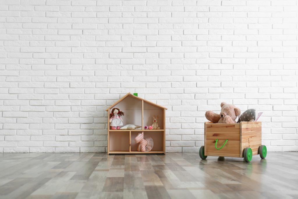 Trolley Storage For Kids