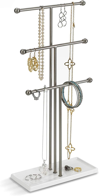 3-Tier Jewelry Hanging Organizer