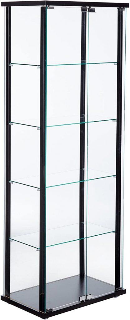 5-Shelf Glass Curio Cabinet by Coaster Home Furnishings