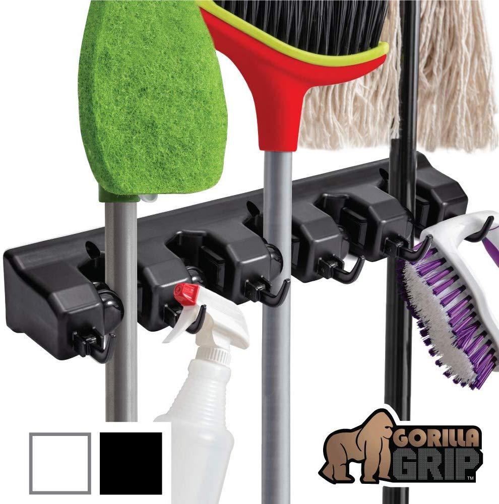Gorilla Grip Premium Mop and Broom Holder
