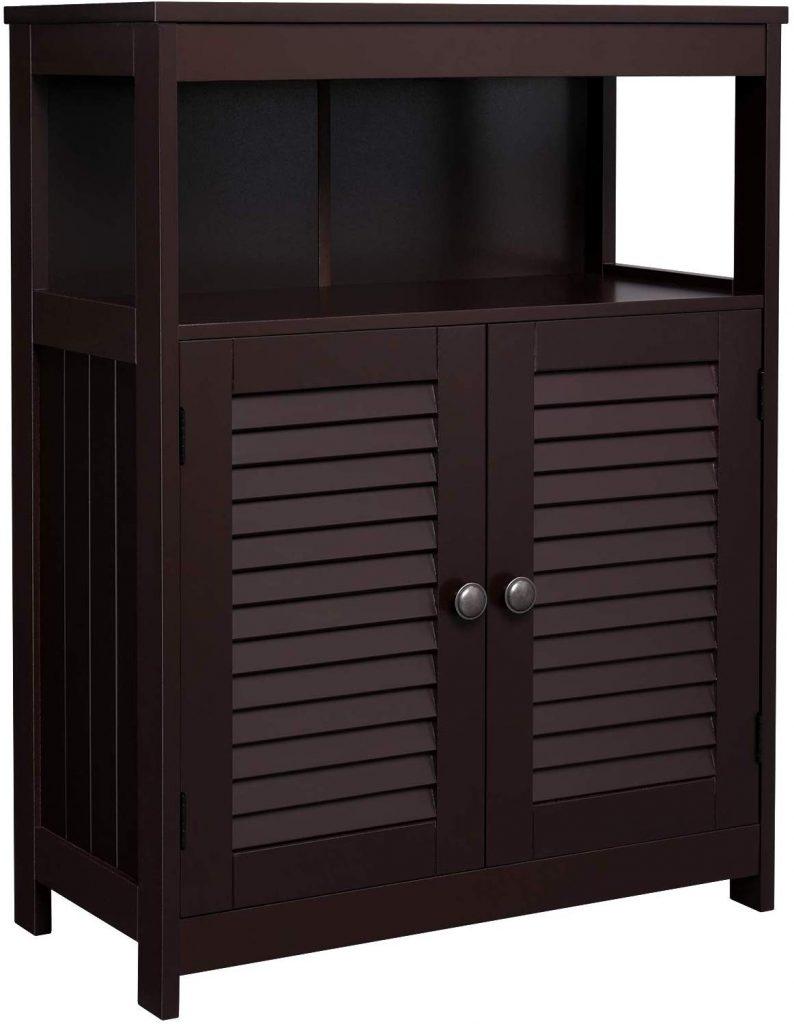VASAGLE Bathroom Storage Floor Cabinet