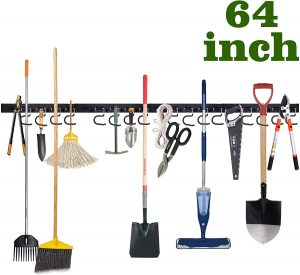 64 Inch Wall Mounted Garage Tool Organizer