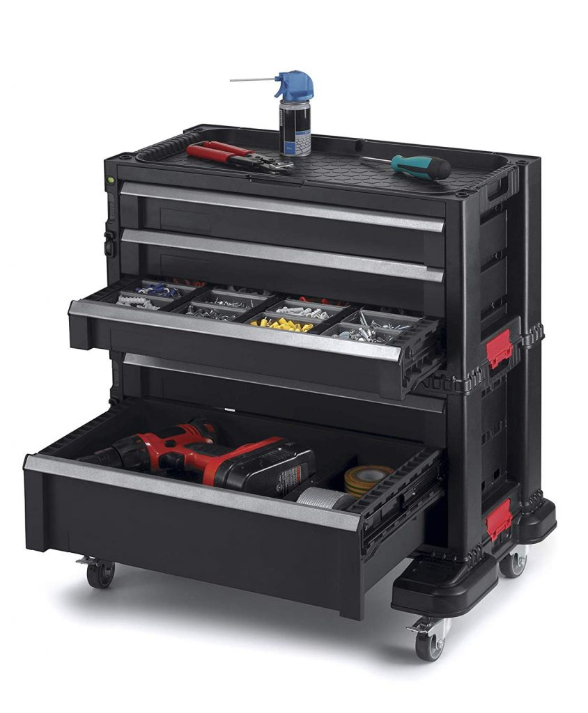 Keter Modular Locking and Rolling Tool Chest