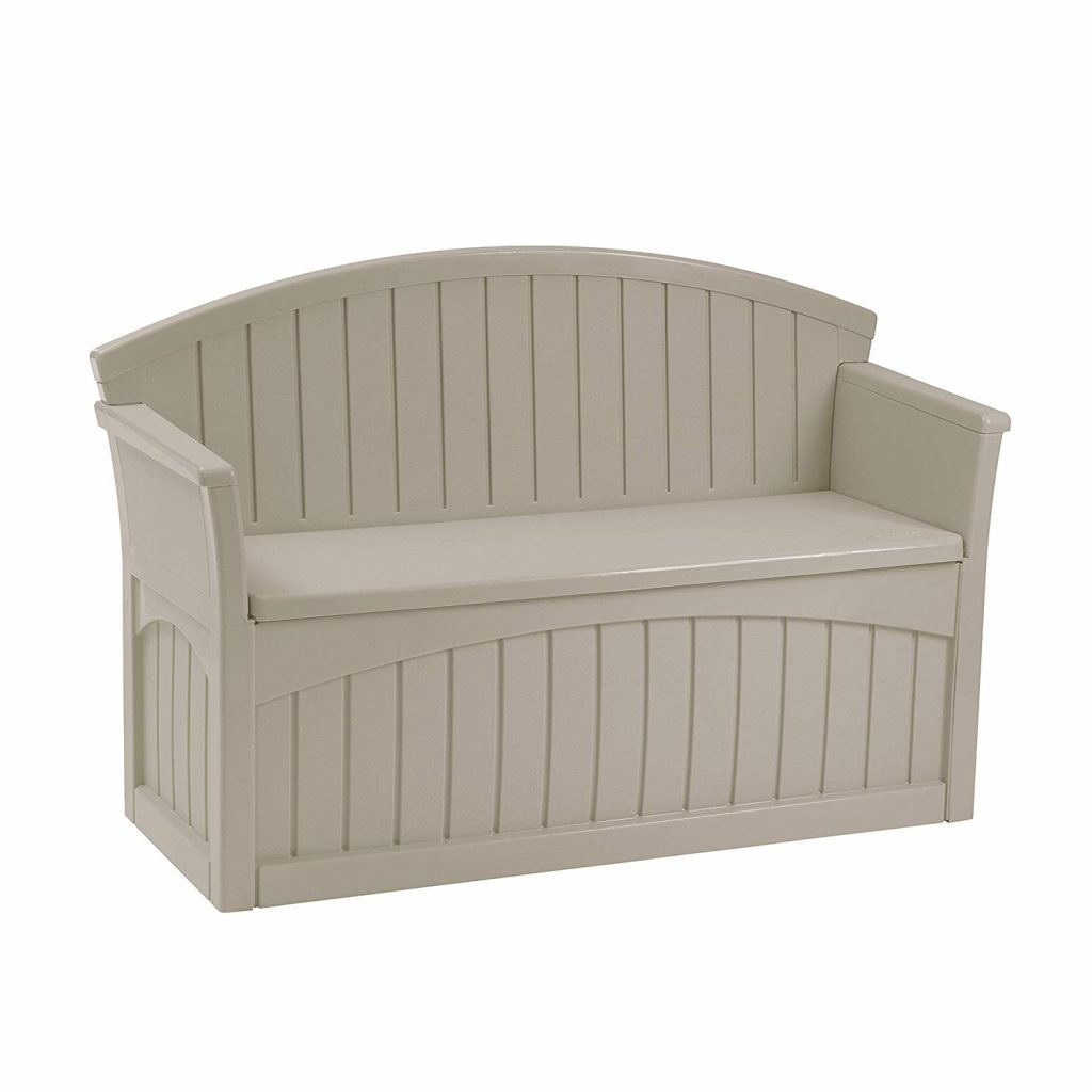 Suncast 50 Gallon Patio Bench with Storage
