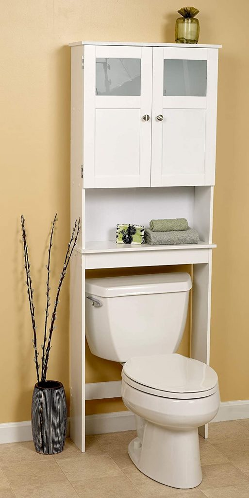 Zenna Home Over The Toilet Bathroom Spacesaver