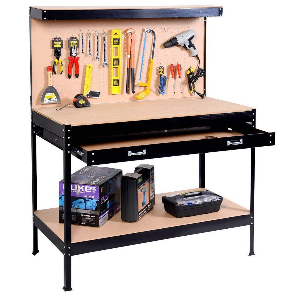 Safstar Multipurpose Workbench Workshop Tool Storage