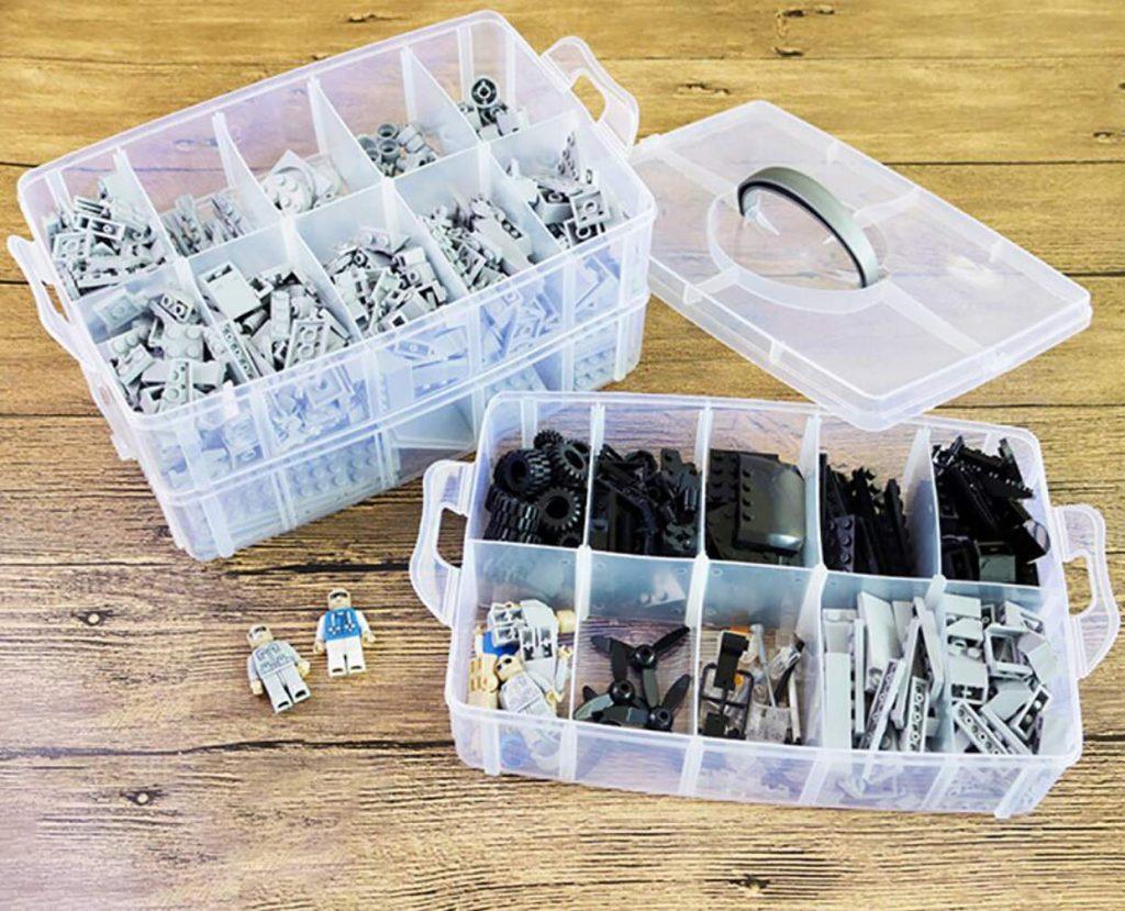 Foraineam 3-Tier Stackable Storage Box Organizer
