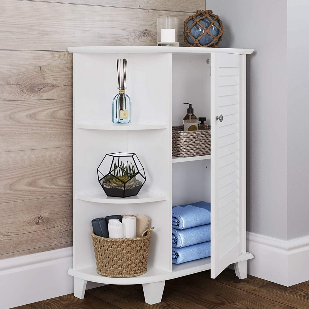 RiverRidge Ellsworth Collection Floor Cabinet with Side Shelves