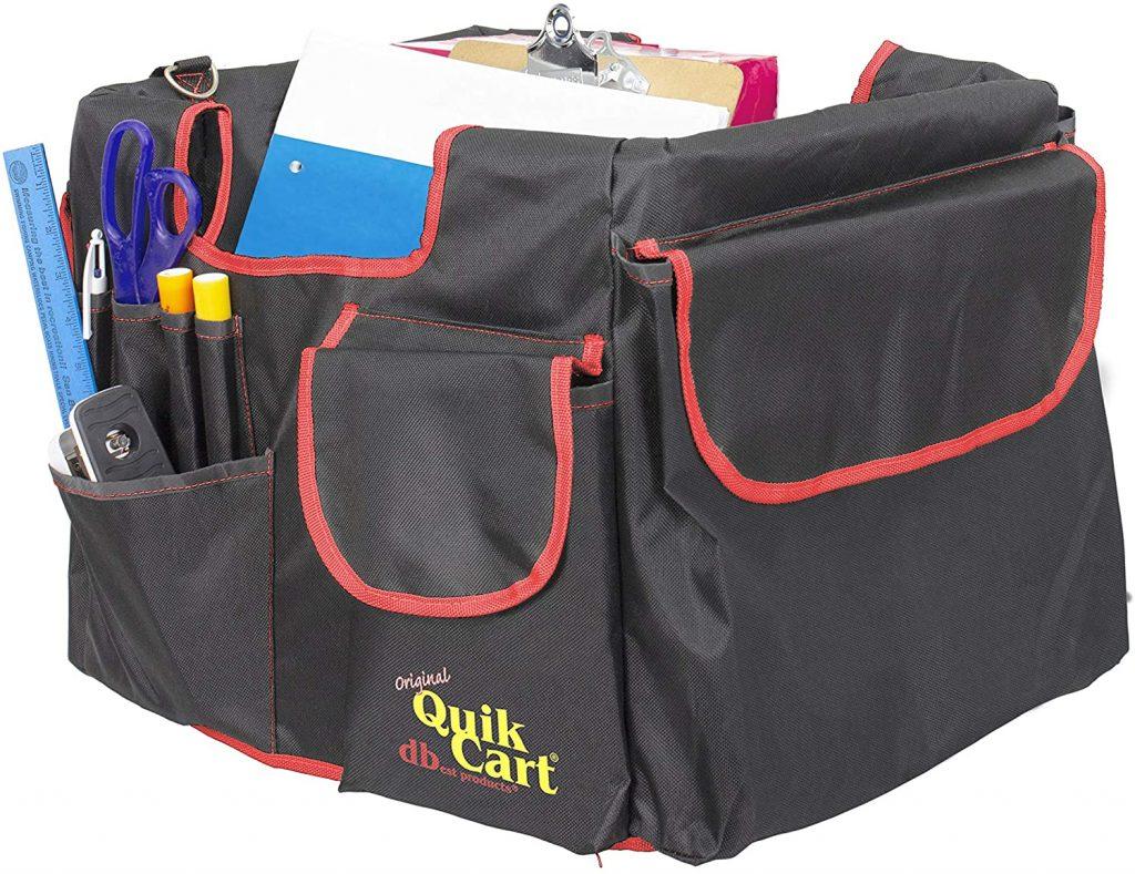 Quik Cart Pockets Bundle Caddy Organizer