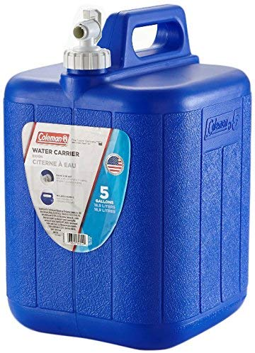 Coleman With Spigot, Water Storage Container, Water Emergency
