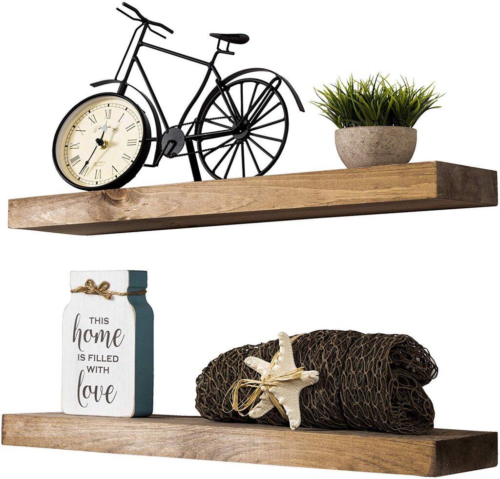 Floating Shelves - Mounting Bracketless Shelves
