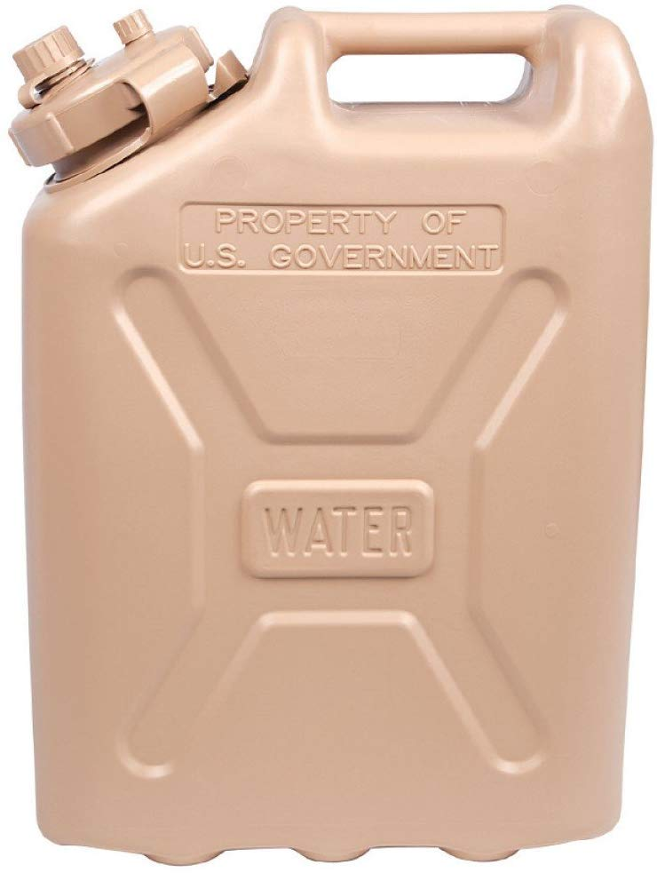 LCI Military Water Can, Water Emergency, Water Storage Container