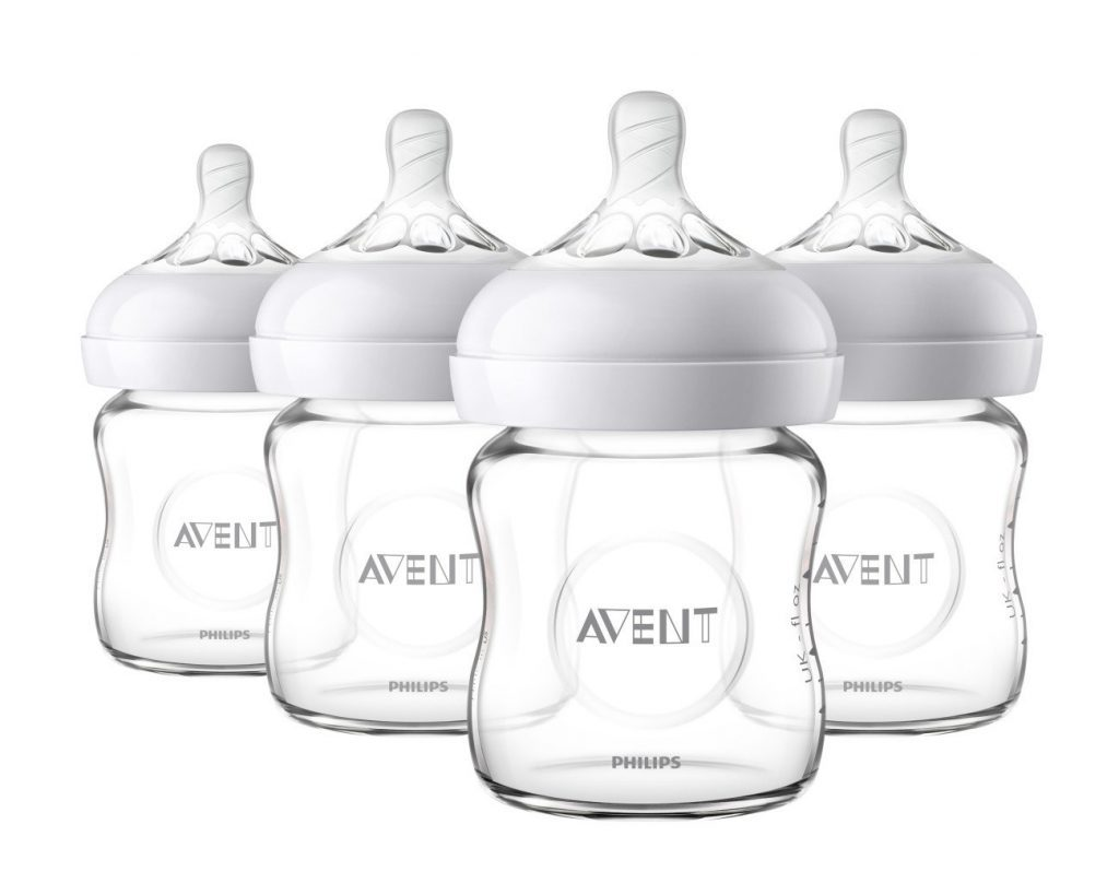 Natural Glass Baby Bottle by Philips Avent