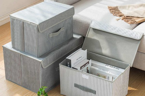How to DIY Fabric Storage Boxes?