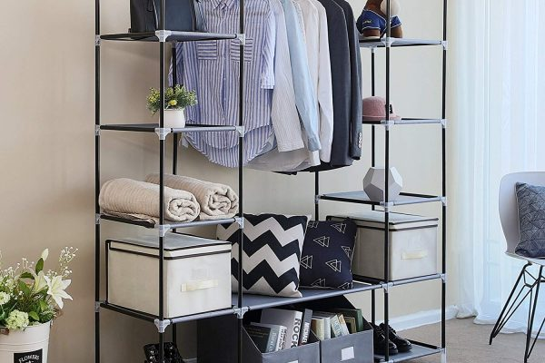 20 Portable Closet Choices For Easy Set-Up And Cleaning
