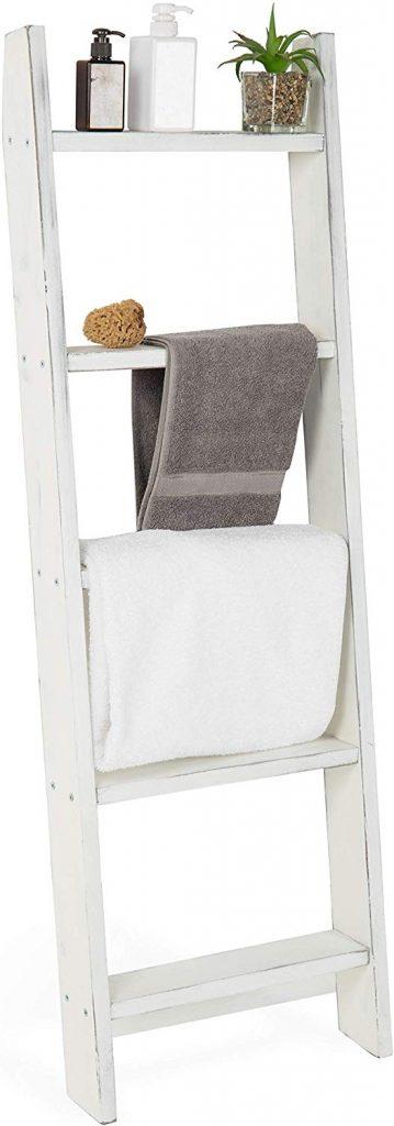 Storage Ladder, Bathroom Storage Ideas, Bathroom Organizer