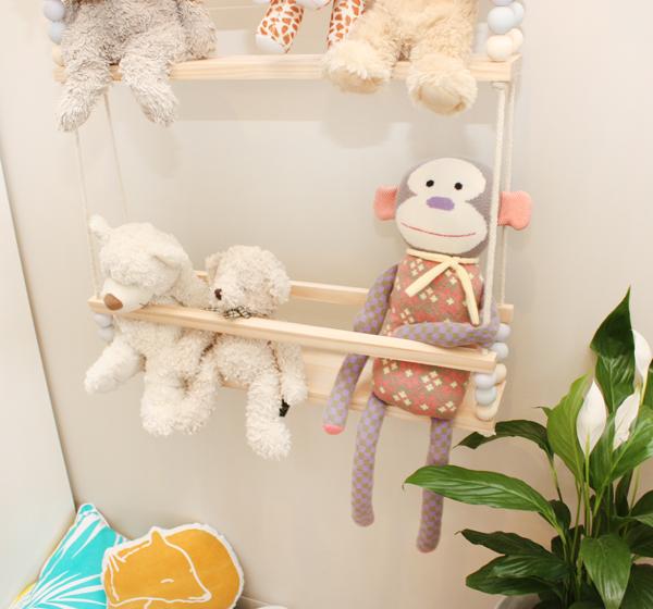 Plush Toy Swing, Toy Storage Ideas, Toy Organizer