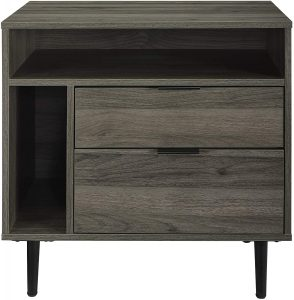 Walker Edison Furniture Company Modern Wood Nightstand