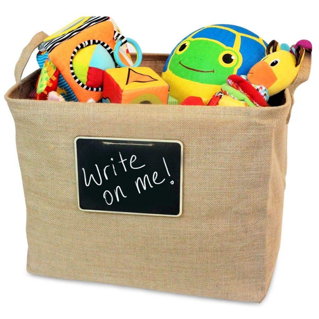 Chalkboard Toy Storage, Toy Storage Ideas, Toy Organizer