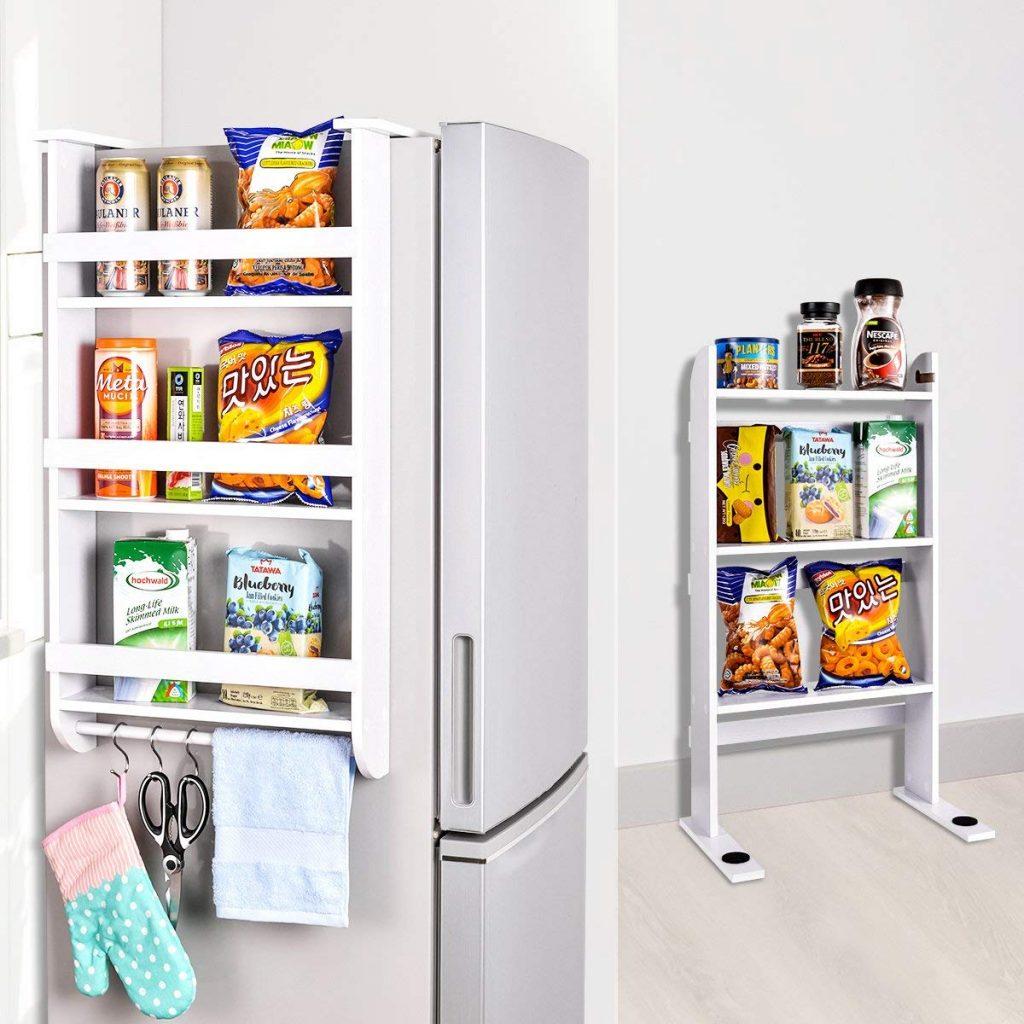 fridge storage, kitchen organizer, fridge shelf