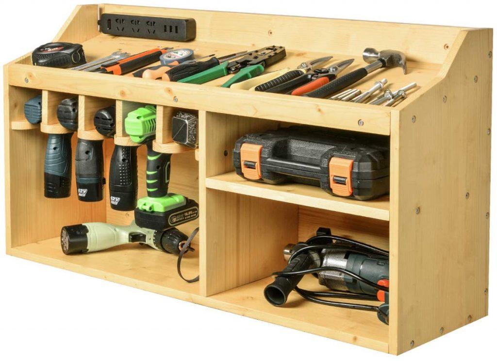 Garage Tool Cabinet, Power Tool Organizer, Garage Storage Ideas, Garage Organizer