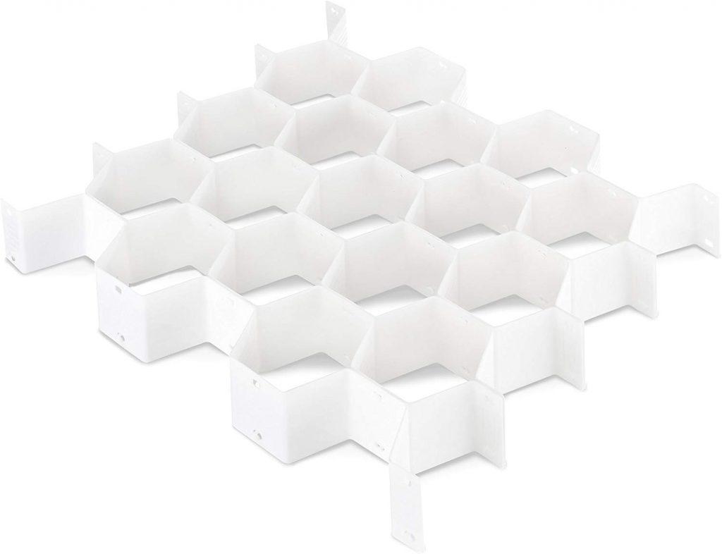 Honeycomb Underwear Organizer, Bedroom Storage Ideas