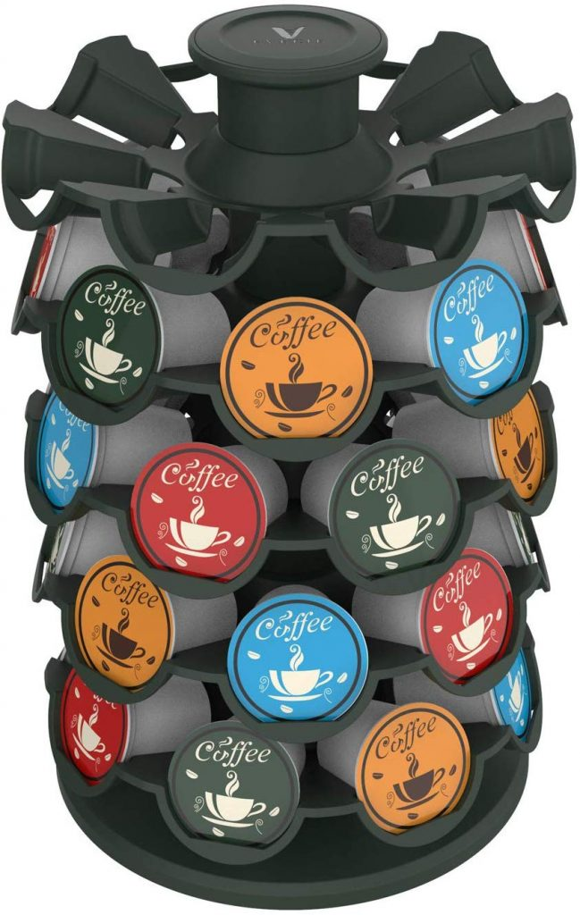 kcup holder, coffee organizer, keurig, coffee holder, kitchen storage ideas