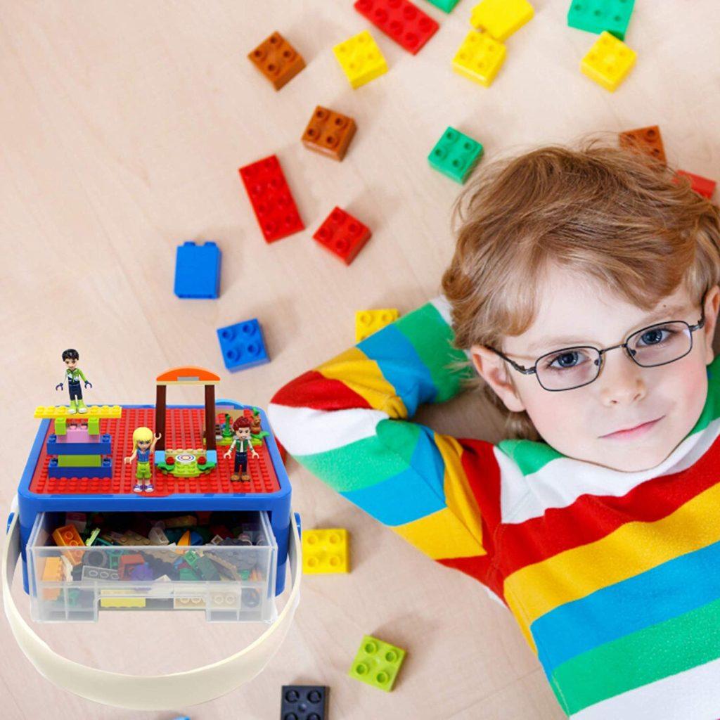 Lego On The Go Toy Storage, Toy Storage Ideas, Toy Organizer