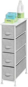 mDesign Narrow Vertical Dresser