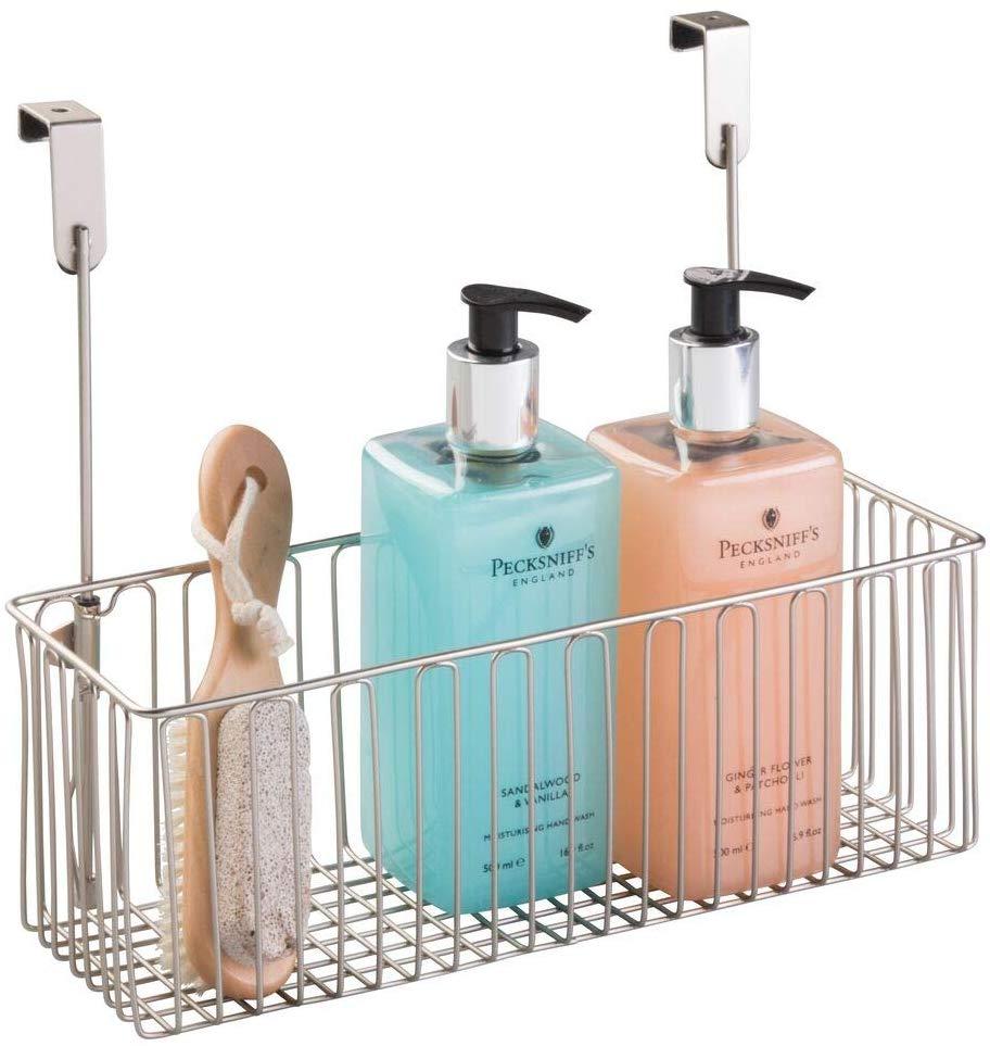 Metal Over Basket, Bathroom Storage Ideas, Bathroom Organizer