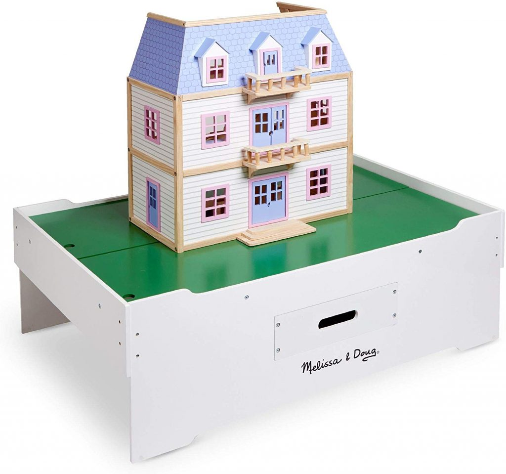 Play Table With Jumbo Drawer, Toy Storage Ideas, Toy Organizer