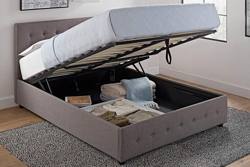 Ottoman Bed Frame, Bedroom Storage Ideas, Storage Ideas