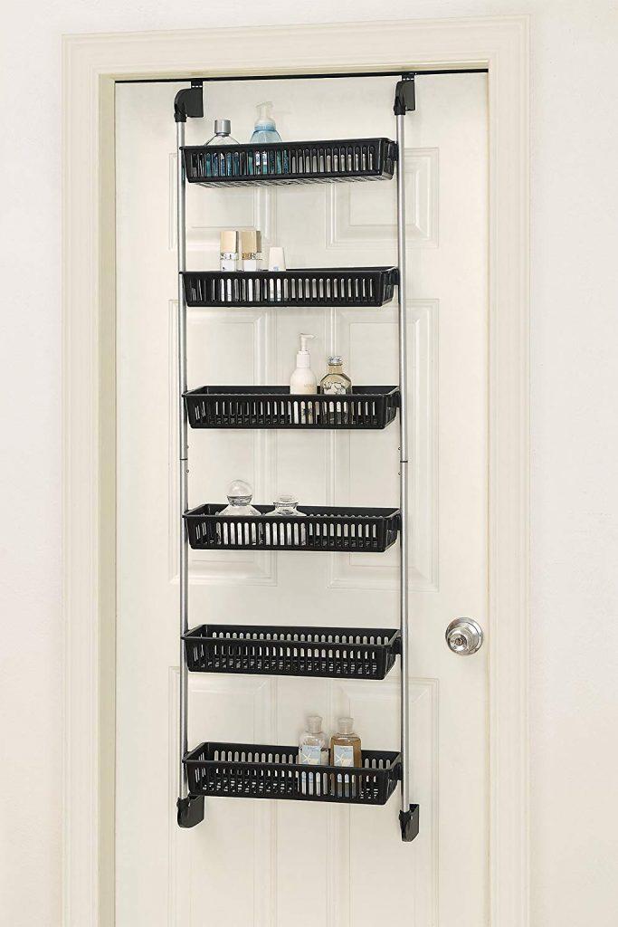 Over The Door Storage, Bathroom Storage Ideas, Bathroom Storage