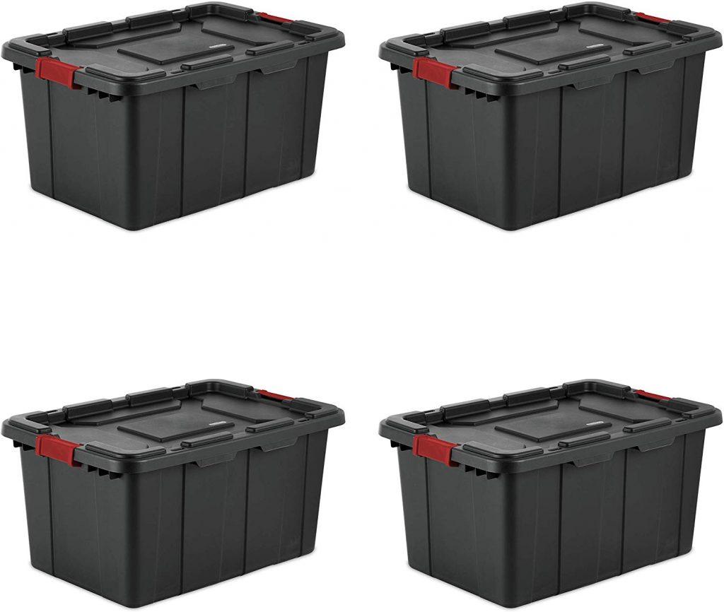 Stackable Storage Bins, Garage Storage Ideas, Garage Organizer, Storage Ideas