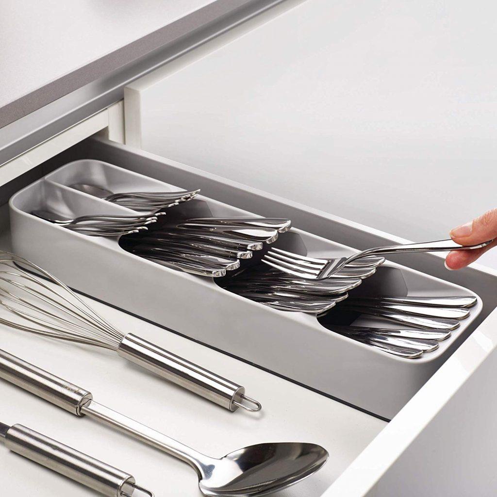 cutlery storage organizer, utensil storage, kitchen storage ideas